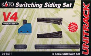 KATO N scale 20-863-1 V4 Switching Siding Set