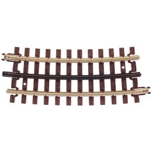 Atlas O 6061 O-54 Half Curved Track 3-rail