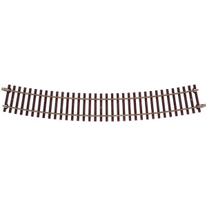 "Atlas O 7011 40.5"" Radius Full Curved Track 2-rail"