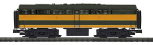 M-T-H O scale 20-20307-3 GN FA-2 B Non-Powered Hi-Rail Wheels 3-rail