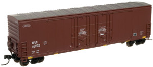 Atlas N 50000424 BNSF (SFLC) w/conspicuity Stripes Evans 53' DPD Box Car #10152