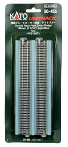"KATO N scale 20-455 Double Track Girder Bridge 7 13/32"" Light Blue"