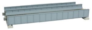 "KATO N scale 20-457 Double Track Girder Bridge 7 13/32"" Gray"