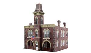 Woodland Scenics BR4934 Firehouse N scale Built-Up
