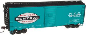 Atlas Trainman 21000062 New York Central 1937 AAR 40' Box Car KIT Car # 157954 HO
