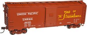 Atlas Trainman 21000064 Union Pacific (OWR&N) 1937 AAR 40' Box Car KIT Car # 188326 HO