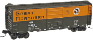 "Atlas N 50001764 Great Northern 40"" PS-1 Box Car #39404"