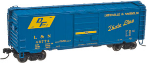 "Atlas N 50001766 Louisville & Nashville 40"" PS-1 Box Car #46774"