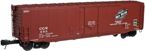 ATLAS O 3003507-1 CNW 50' PS-1 Plug Door Box Car w/o rook walk #392 3-rail
