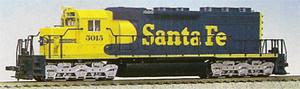 Kato HO 37-012 ATSF Santa Fe SD40 HO #3018 DC