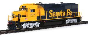 920-41809 Walthers Proto Santa Fe GP60 DCC/Sound #4033 HO