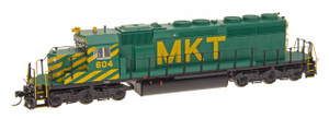 Intermountain 49348s-01 M-K-T SD40-2 #601 with DCC & Sound HO