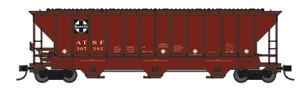 "Trainworx 24425-01 ATSF ""As Delivered"" 1966 PS2CD high side covered hopper N scale #307502"
