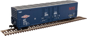 Atlas N 50002288 Minneapolis Northfield & Southern Evans 53' Double Plug Door Box Car #50066