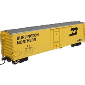 Atlas HO 20002961 Burlington Northern 50' Plug Door Box Car #745045