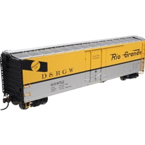 Atlas HO 20002967 D&RGW 50' Plug Door Box Car #60825