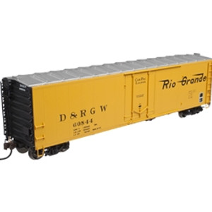 Atlas HO 20002971 D&RGW 50' Plug Door Box Car #60846