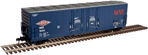 Atlas O 3002320-01 Minneapolis, Northfield & Southern #50066 53' Evans Double Plug-Door Box Car 2-rail