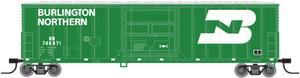 Atlas N 50002518 Burlington Northern FGE 50' Box Car #748871