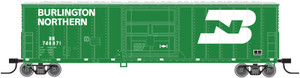 Atlas N 50002519 Burlington Northern FGE 50' Box Car #748879