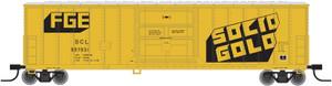 "Atlas N 50002525 Seaboard Coast Line SCL ""Solid Gold"" FGE 50' Box Car #997931"