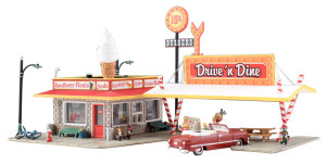 Woodland Scenics BR5029 Drive 'n Dine HO scale Built & Ready