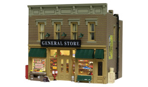 Woodland Scenics BR5021 Lubener's General Store HO scale Built & Ready