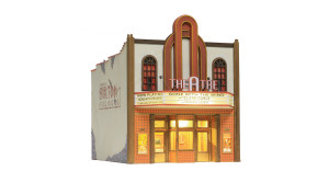 Woodland Scenics BR5854 Theater O scale Built-Up