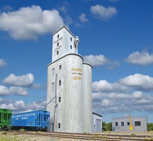 Walthers Cornerstone 933-4047 Prairie Co-op Elevator HO