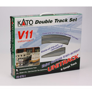 KATO N scale 20-870-1 V11 Double Track Set