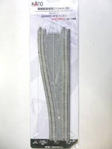 Kato N scale 20-051 Concrete-Tie Double-Track Widening Section - Unitrack
