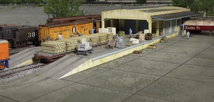 Walthers Cornerstone 933-2918 Open Air Trainload Building HO