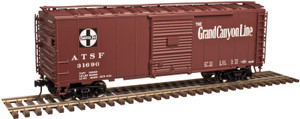 "Atlas O TM 2002224-1 Santa Fe ""Grand Canyon Line"" #31629 40' Sliding Door Boxcar 3-rail"