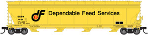 Atlas N 50002470 Dependable Feeds ACF 5701cf Covered Hopper #1010