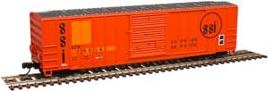 Atlas N 50002410 Atlantic & Western FMC 5077 SD Box Car #35043