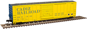 Atlas N 50002417 Cadiz Railroad FMC 5077 SD Box Car #1001