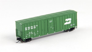 FVM 81804 Burlington Northern 7 Post Boxcar #319051 N scale