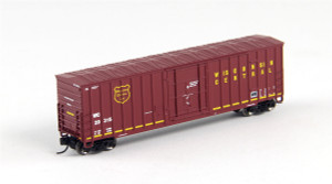 FVM 81799 Wisconsin Central 7 Post Boxcar #20341 N scale