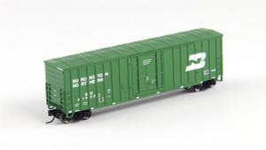 FVM 81805 Burlington Northern 7 Post Boxcar #319062 N scale