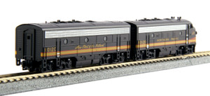 KATO N scale 106-0423 Northern Pacific F7AB Road #6012C & 6012D