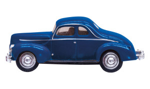 WS Just Plug Lighting JP5618 Blue Coupe N scale