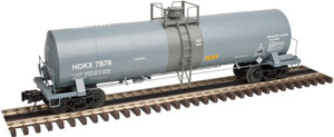 Atlas O 3008206-02 Occidental (7800 series) 17,360 gal Chlorine Tank Car #7847 2-Rail