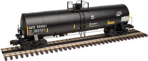 Atlas O 3008205-01 General American GATX 17,360 gal Chlorine Tank Car #58987 2-Rail