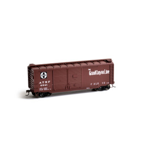 Athearn RTR 14727 Santa Fe 40' Double Door Box Car #6541 HO