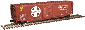 Atlas O 3005706-02 Santa Fe #12692 50' PS-1 Box Car 3-rail