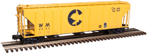 Atlas O 3002359-03 Chessie System (WM) #4683 PS 4427 Low Side Hopper 2-rail