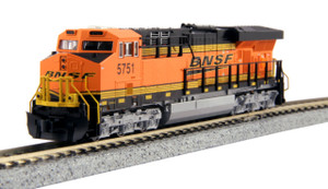 KATO N scale 176-8924 BNSF ES44AC # 5751 DC MAP Price