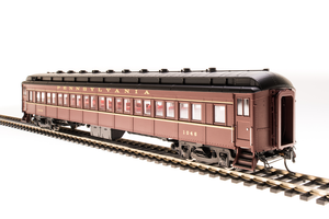 BLI 4366 PRR P70 without AC, Tuscan Red w/ Gold Lettering & Stripes, 4-Car Set, HO