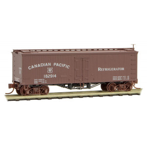 Micro-Trains 058 00 250 Canadian Pacific 36' Wood Sheathed Ice Reefer #182914 N Scale