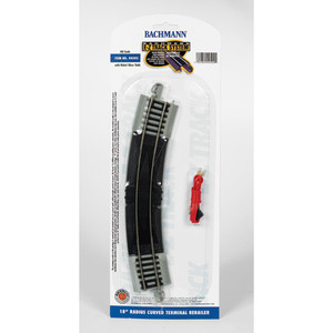 "Bachmann HO 44502 18"" r Curved Track (4 per card) Code 100"